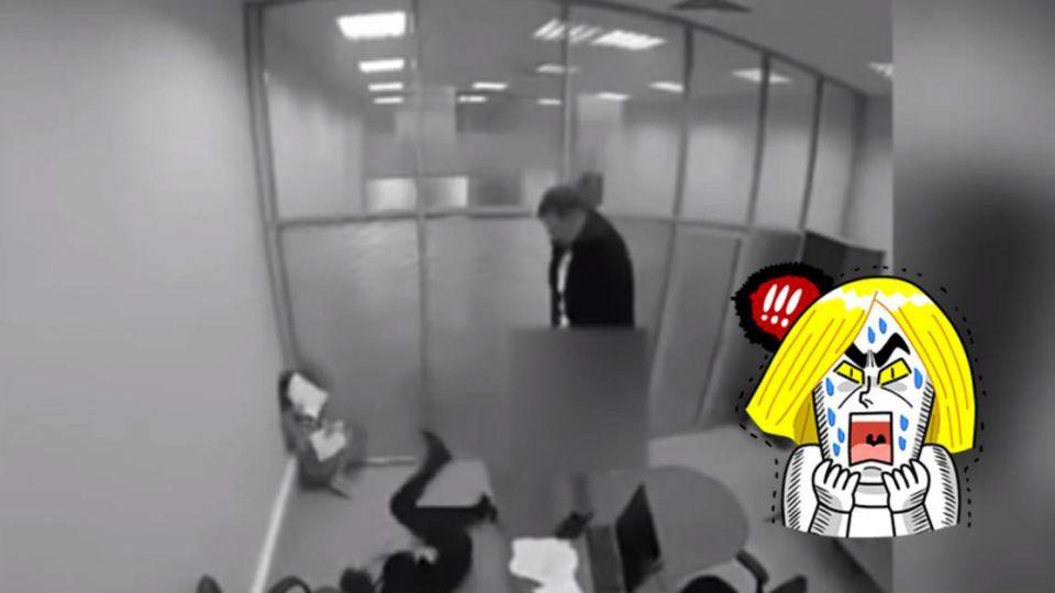 【影片】男子中樂透後 狂毆主管又撒尿 網友:法院見