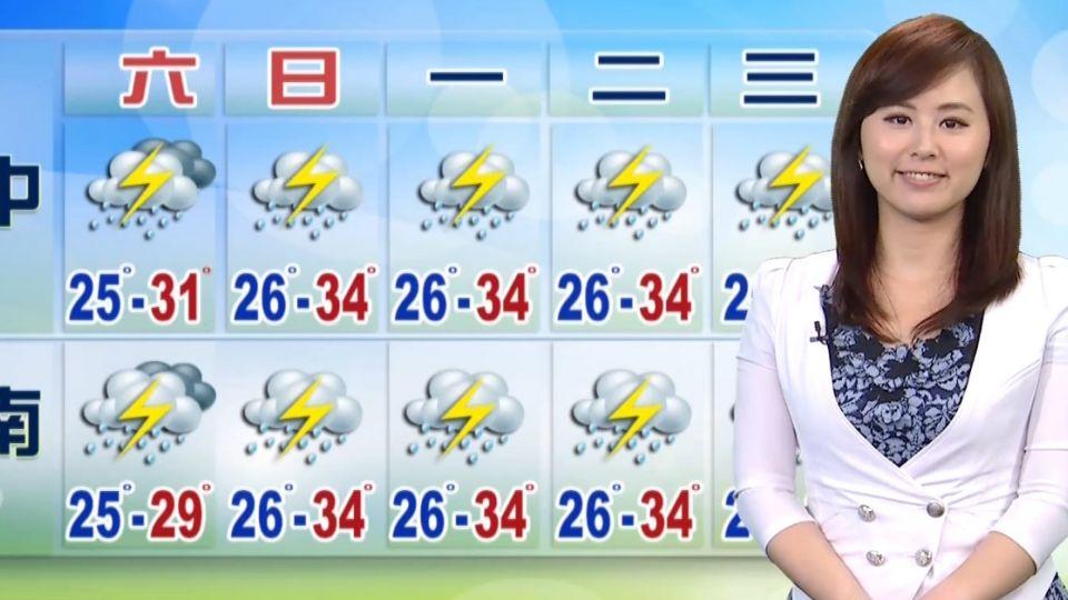 【2016/08/13】低壓帶籠罩 連日大雨路況留意