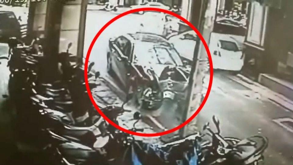 遇警追捕沿路逃 連撞3車又撞婦人