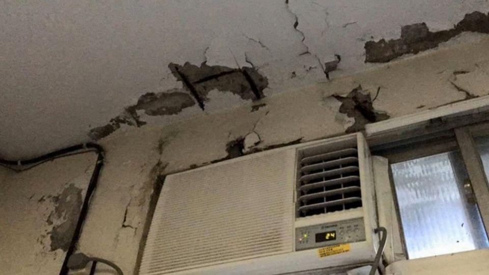 長蟲、鋼筋露! 北榮護理人員宿舍遭指控像鬼屋
