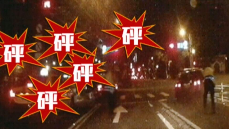 警開九槍「給我下車!」 通緝犯拒檢衝撞逃