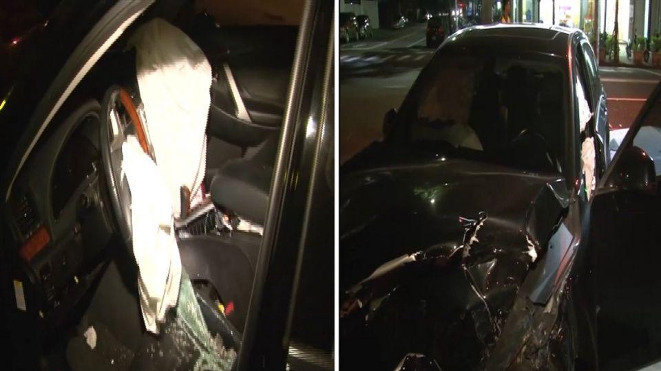 沒義氣!兩車相撞 駕駛都落跑 留下受困乘客