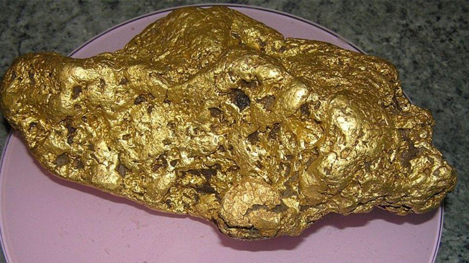 超幸運!淘金客挖到4公斤金塊 價值達600萬