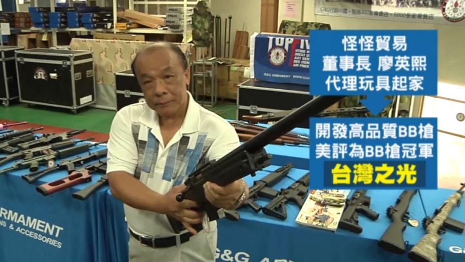 生存遊戲槍枝引爭議! 怪怪貿易董事長遭起訴