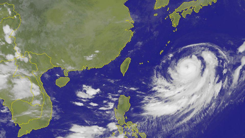 颱風影響高溫略降 北部間歇雨中南部午後陣雨