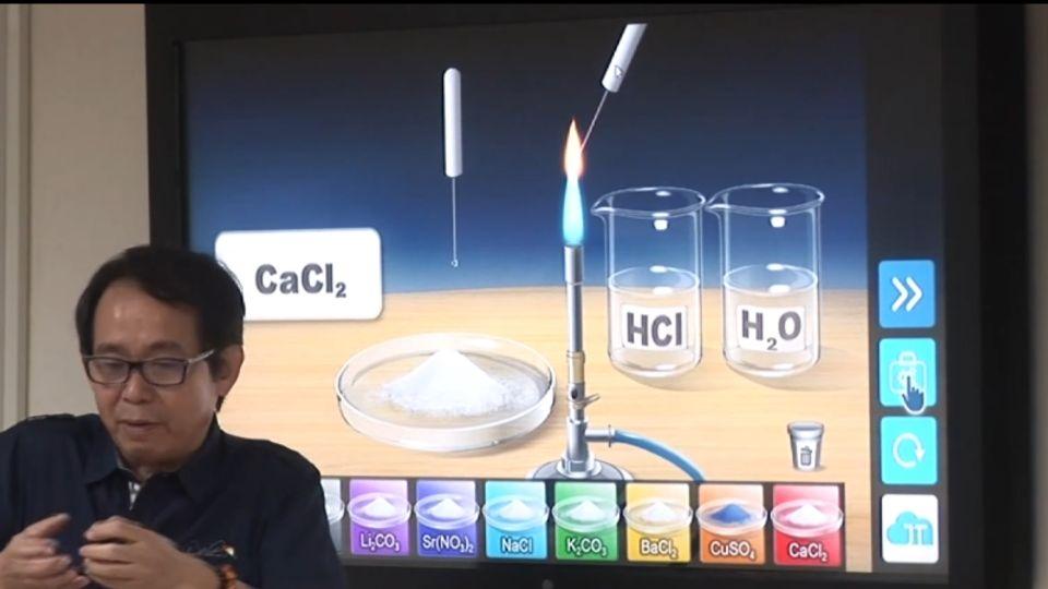 化學、理難懂? 3D立體教學 抽象概念變實體