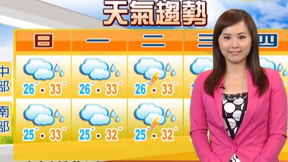 氣象時間 1050828 早安氣象 東森新聞HD