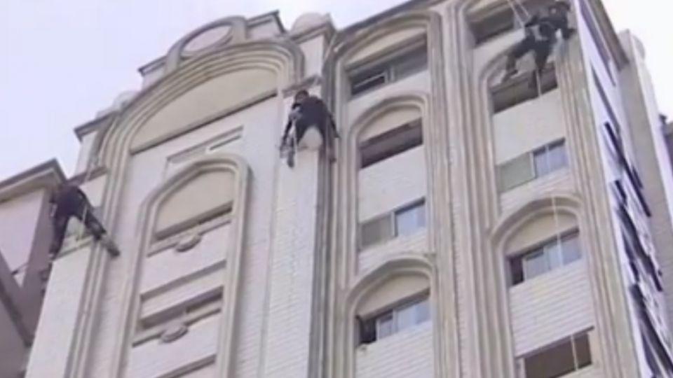 特寫蜘蛛人 高樓外牆維修業務包羅萬象