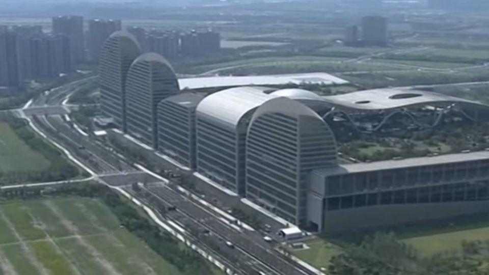 央視高規格空拍報導 G20杭州峰會場地曝光
