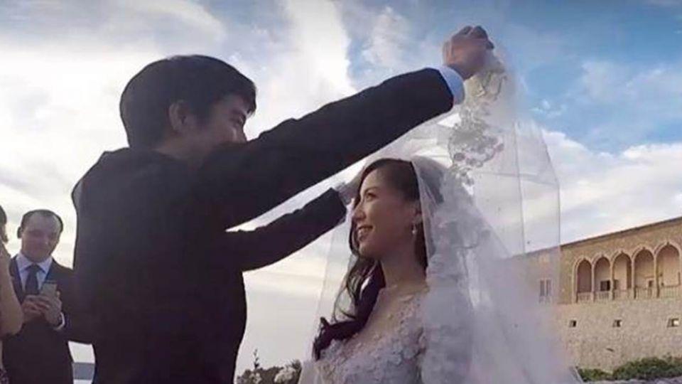 【影片】王力宏「婚禮現場」藏3年首公開 掀頭紗畫面超浪漫