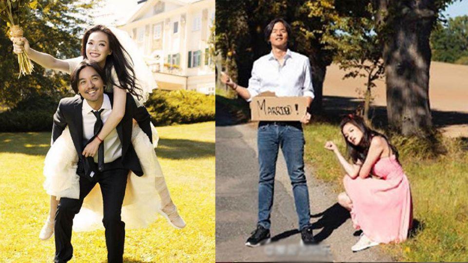 【多圖/影片】8句「是的」認喜事!馮德倫與舒淇結婚啦!