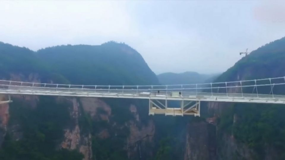「全球之最」張家界玻璃橋 營運12天關閉引疑慮