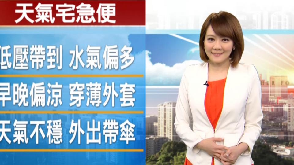 【2016/09/03】低壓帶影響全台 16縣市豪大雨特報