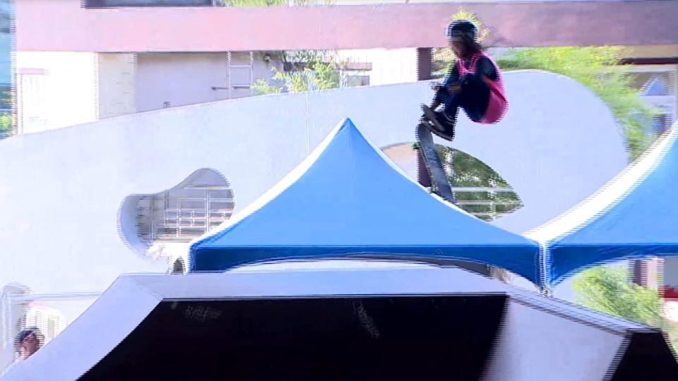 滑板首度列入奧運 「台灣一姊」張郁婷受矚目