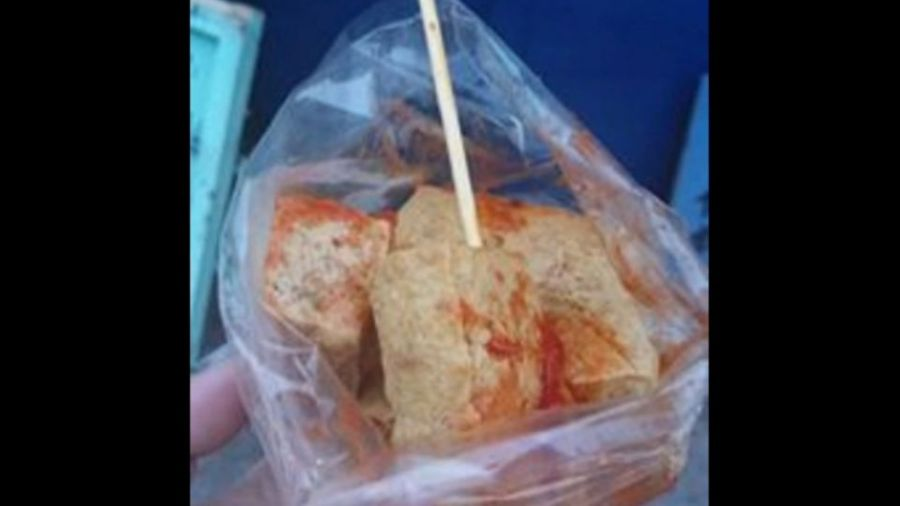 賣太貴?3塊臭豆腐沒加泡菜70元 遊客結帳愣了一下