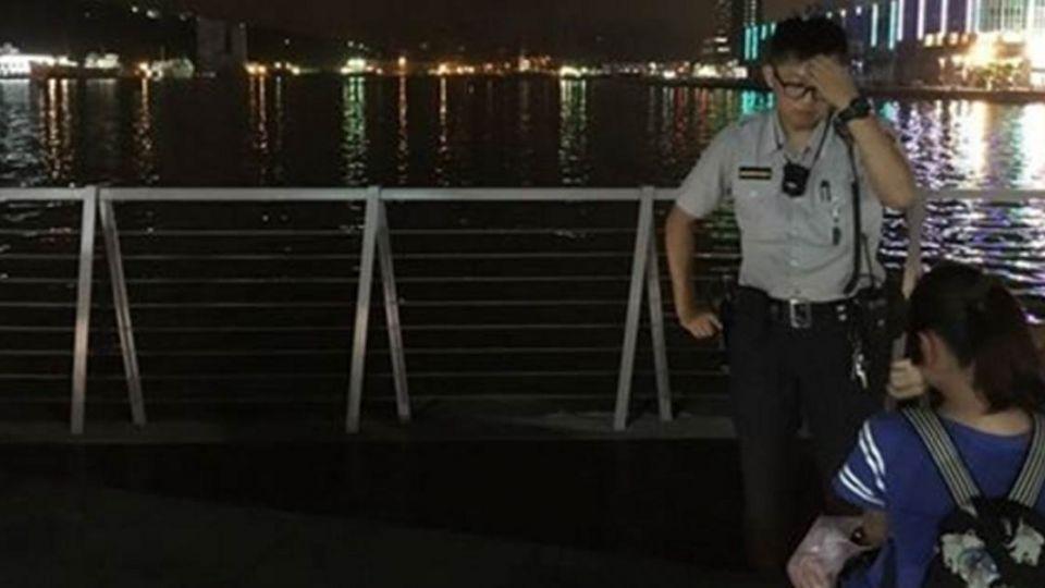 台中網友「想看海」 換來一張救命照片!