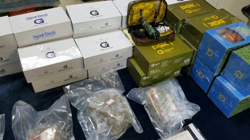 販毒集團微信攬客 約咖啡廳賣大麻