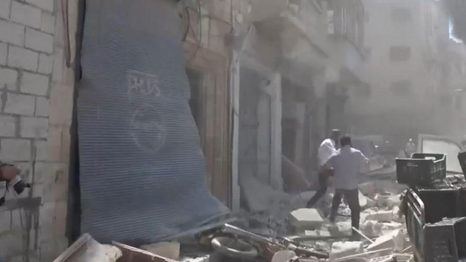 美俄達停火協議  同一天敘利亞空襲釀82死