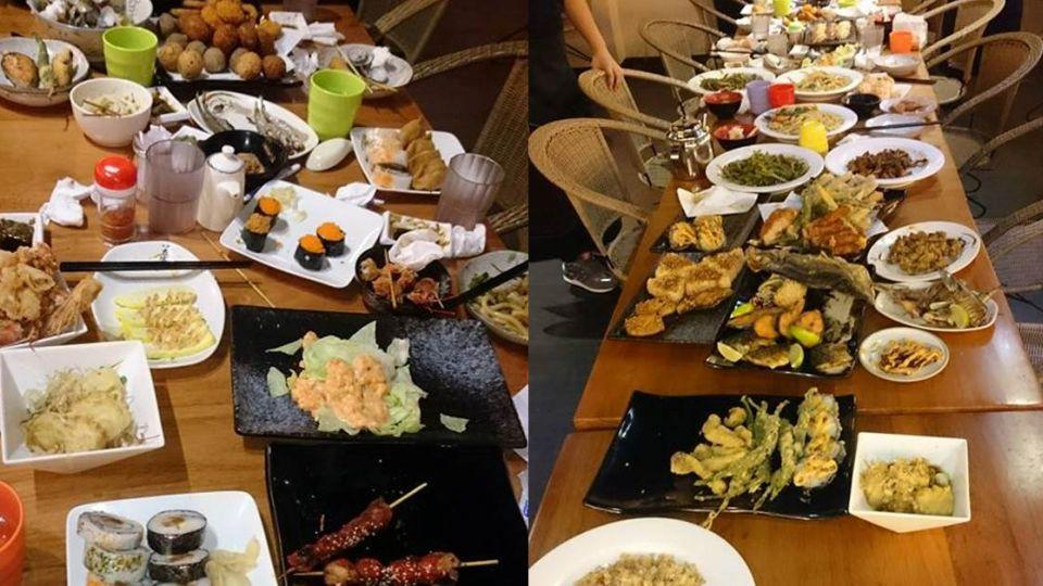 【影片】「嫌出菜慢」奧客豪點70道 滿桌剩菜沒吃幾口就閃人
