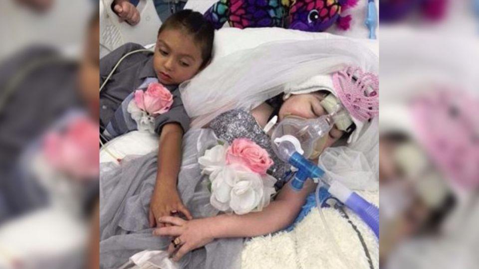 5歲童病床上「戴戒指」與好友結婚 6小時後母懷中安詳離開