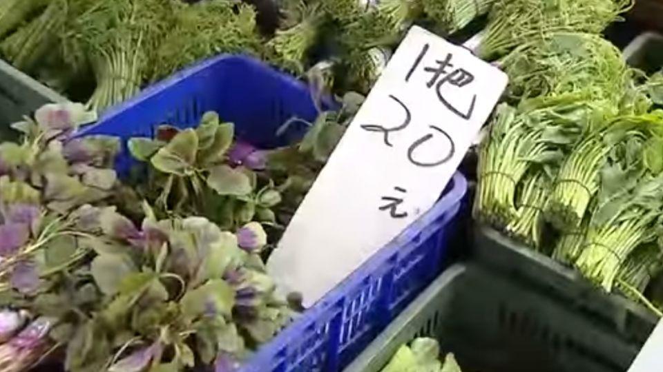 颱風快來了! 蔬菜平均漲逾一成