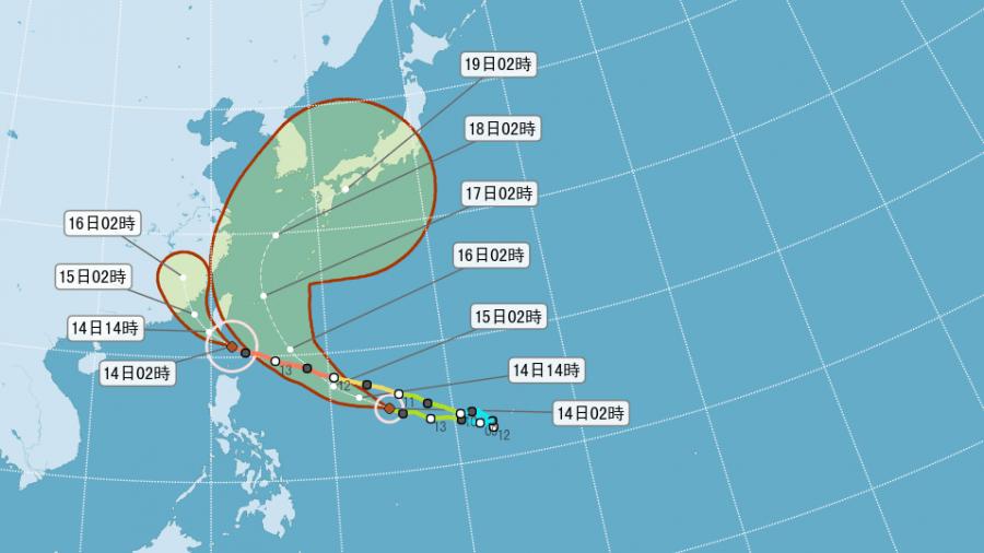 颱風大玩接力賽?「馬勒卡」緊追在後 不排除發海警