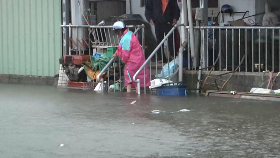一夜醒來住在水上  台東3戶十多人受困