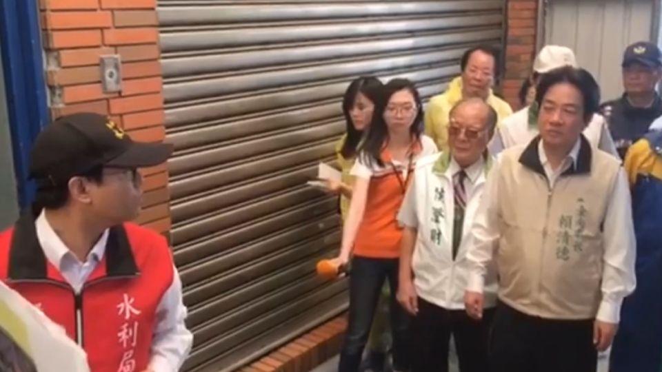 台南只放下半天! 賴神臉書被市民噓爆