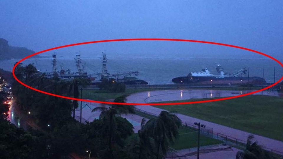 【影片】船吹到學校操場旁!莫蘭蒂無情肆虐 船員落海釀首死