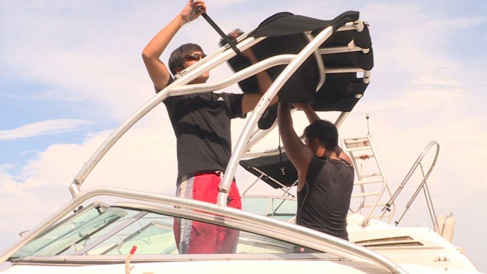 東北角警戒! 上百萬遊艇怕颱風 業者急綁船