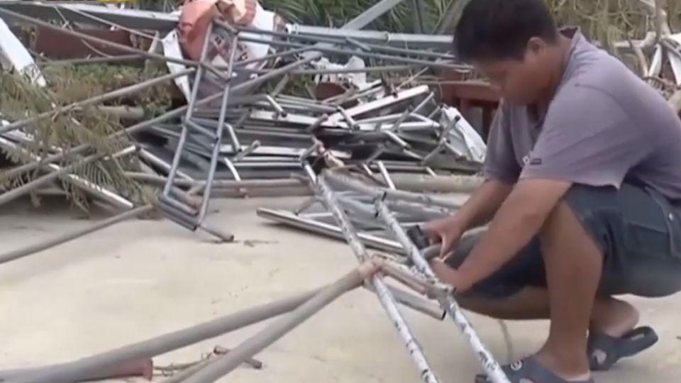 颱風吹跑客! 小琉球連假上千萬觀光財沒得賺