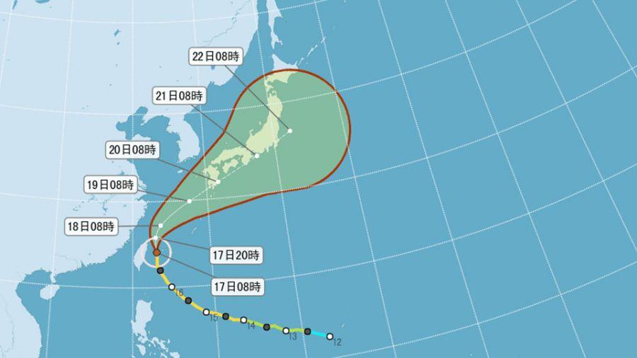 「颱」味濃!今年「最強前三名」颱風 都來向台灣叩門