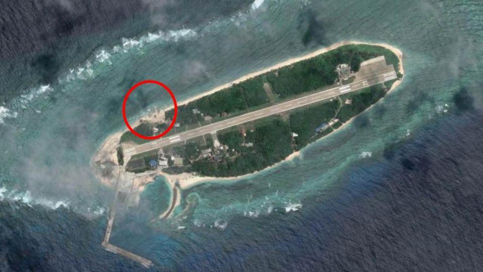 太平島驚見神秘結構物!資深國安官員:無法解釋用途