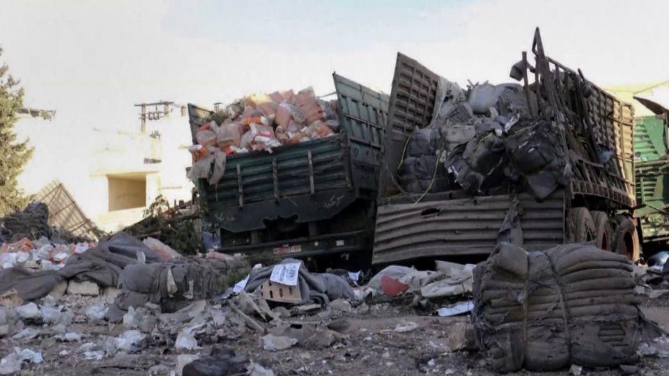 敘國和平生變 救援車遭空襲12司機死