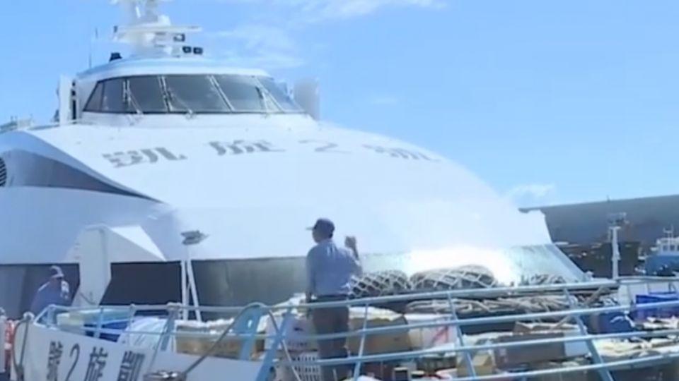蘭嶼、綠島航運中斷逾一周!「恐引發斷糧危機」