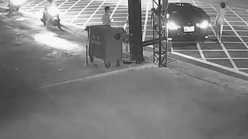 酒駕肇逃 為撿掉落車牌 騎車返回遭逮