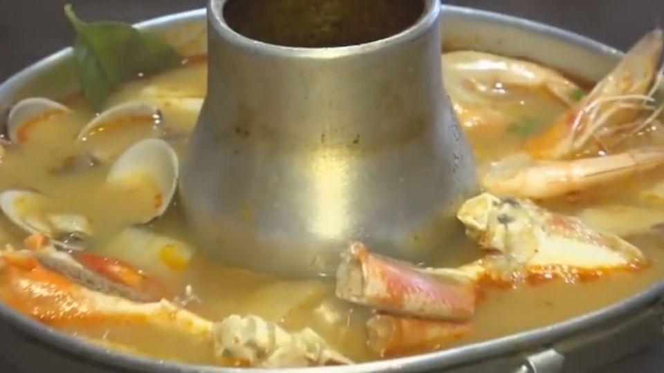 泰式酸辣鍋好鮮!蟹、蝦、蛤蜊吃到飽