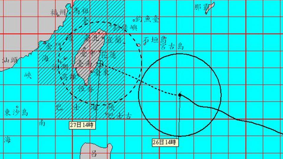 梅姬襲台!宜花東達停班課標準 一張圖看懂各地颱風怎麼颳