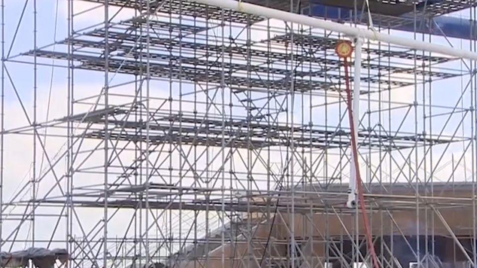 亞洲第二大摩天輪在台中 首度迎戰颱風