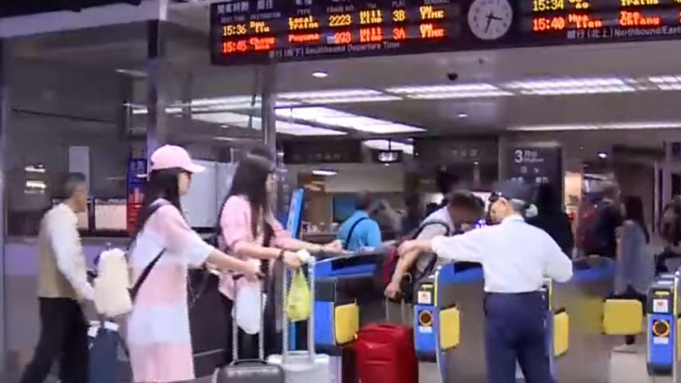 高鐵全停駛台鐵部分通行 海陸空運輸受影響