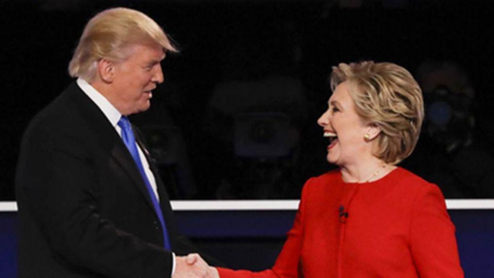 美國總統大選辯論 CNN民調:希拉蕊大勝川普!