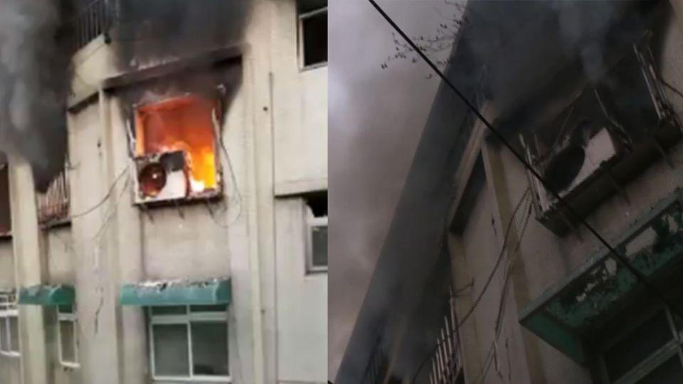 疑與同居人爭吵!65歲男當著警消面引爆瓦斯 1死6傷