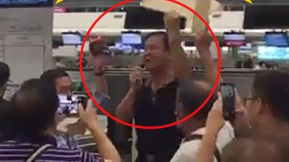 議員大鬧香港機場? 張榮志:被欺負才表達抗議