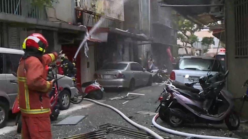 為錢談引判爆瓦斯釀火 炸死女債主、警消5傷