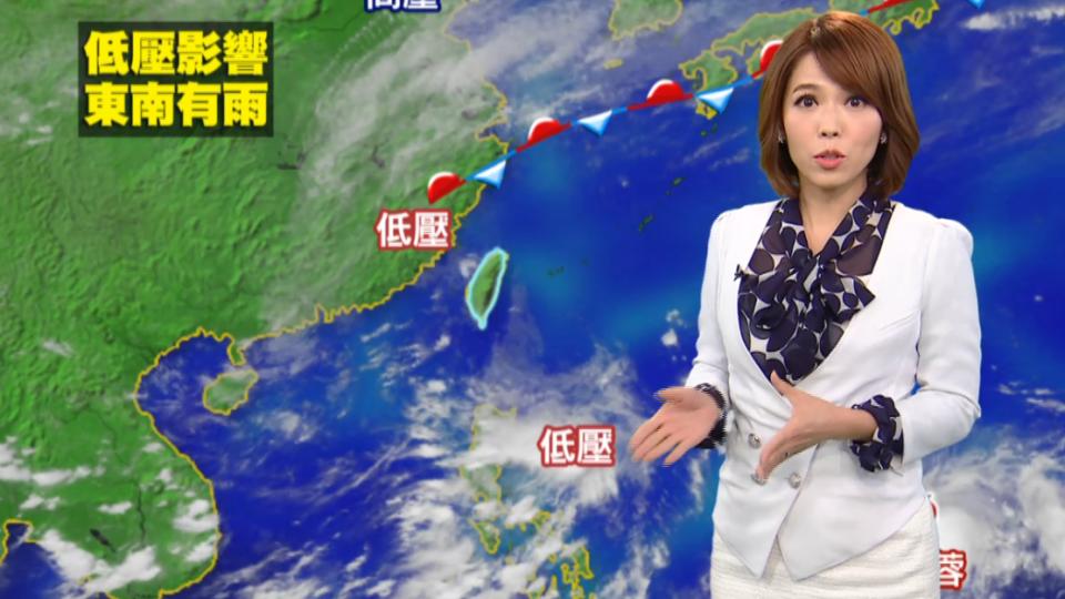 颱風遠離甩尾  台東 台南 今仍出現豪雨