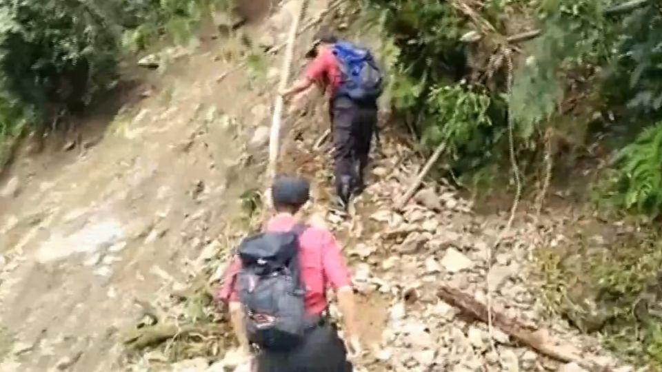 「我要活!」 摔車困山區6天遇颱 騎士輕傷獲救
