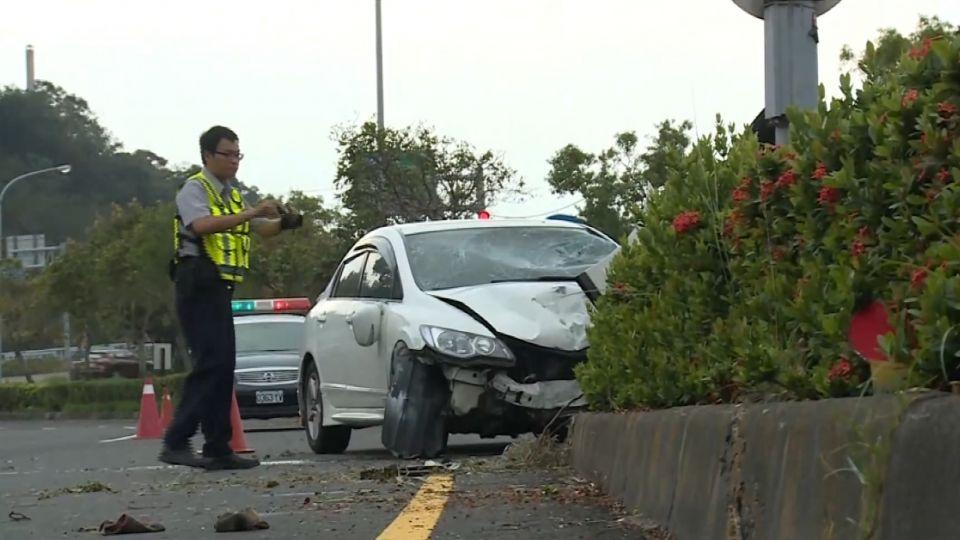 颱風後清掃!苗栗3名掃街工人遭撞飛 1人重傷