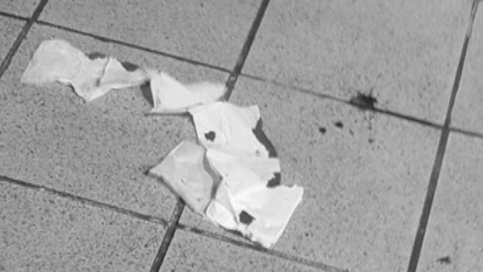 捷運站濺血!住戶高樓砸玻璃瓶 無辜路人頭破