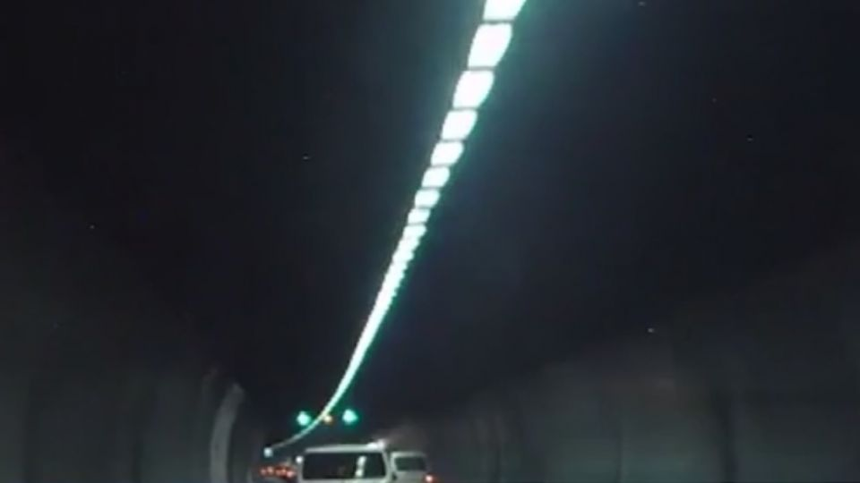 民眾直擊雪山隧道內「下小雨」 憂行車安全