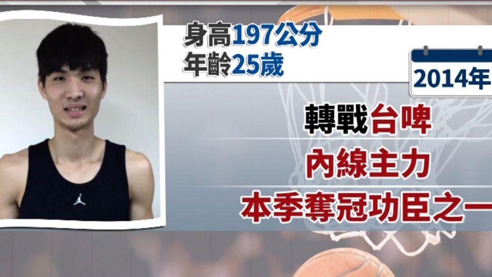 周伯勳被稱「籃板狂人」  2月例行賽奪「雙20」紀錄